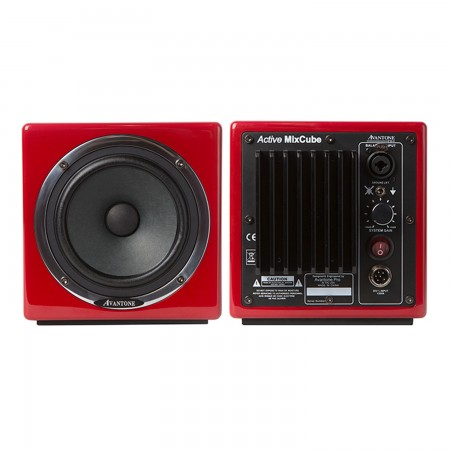 Avantone Mixcube Active (Pair) 10th Anniversary Red