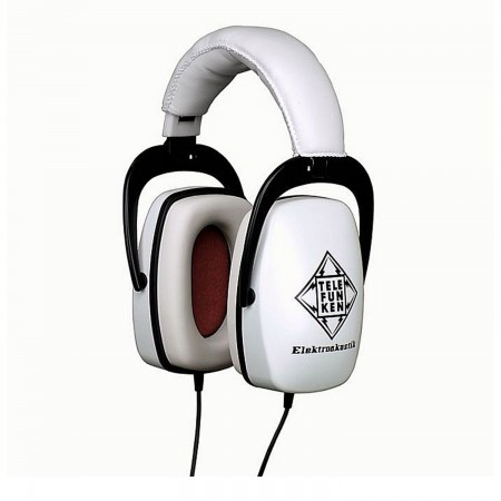 Telefunken THP-29 WHITE Isolation Headphones